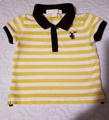 Burberry Baby Boy Polo Shirt Sz 6 M