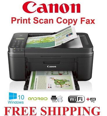 NEW Canon PIXMA MX492 Wireless Office Color Printer All-In-One Scaner Copier-NEW (Color Inkjet Office Printer)