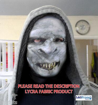 Monster Verrottete Zähne Gesicht Halloween Gruselig Horror Gesichtsmaske Kostüm ()