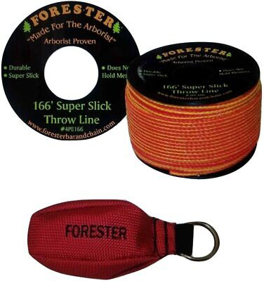 Arborist Tree Workers Throw Line Kit Rope Bag 1-15oz Bag And 166 Of Throw Line