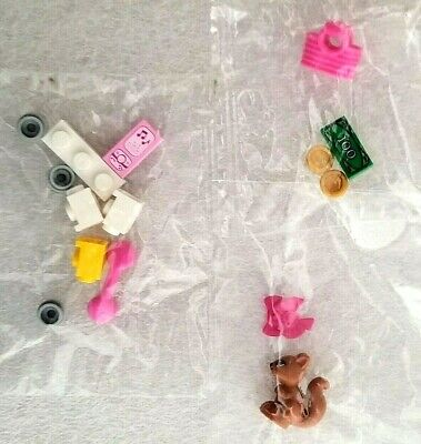 Lego Friends Accessories and Parts for mini-fig Various Sealed NEW Bags Lot of 3