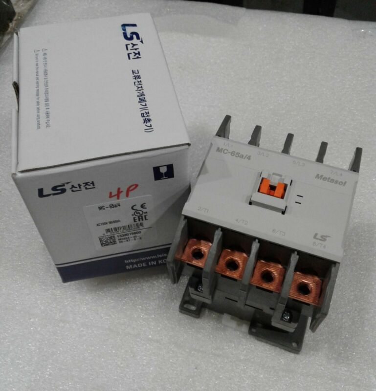 MC-065a/4-120 LS Metasol Contactor 4 Pole 120 Volt UL NEW IN BOX!!