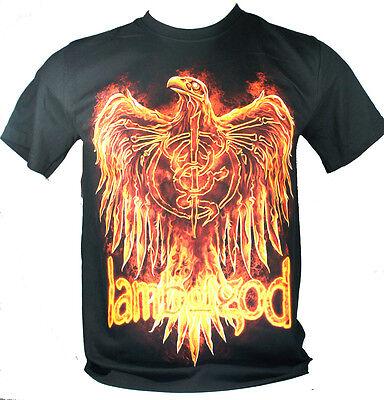 Lamb Of God Large Size L New! T-Shirt (Phoenix Bird) 1155