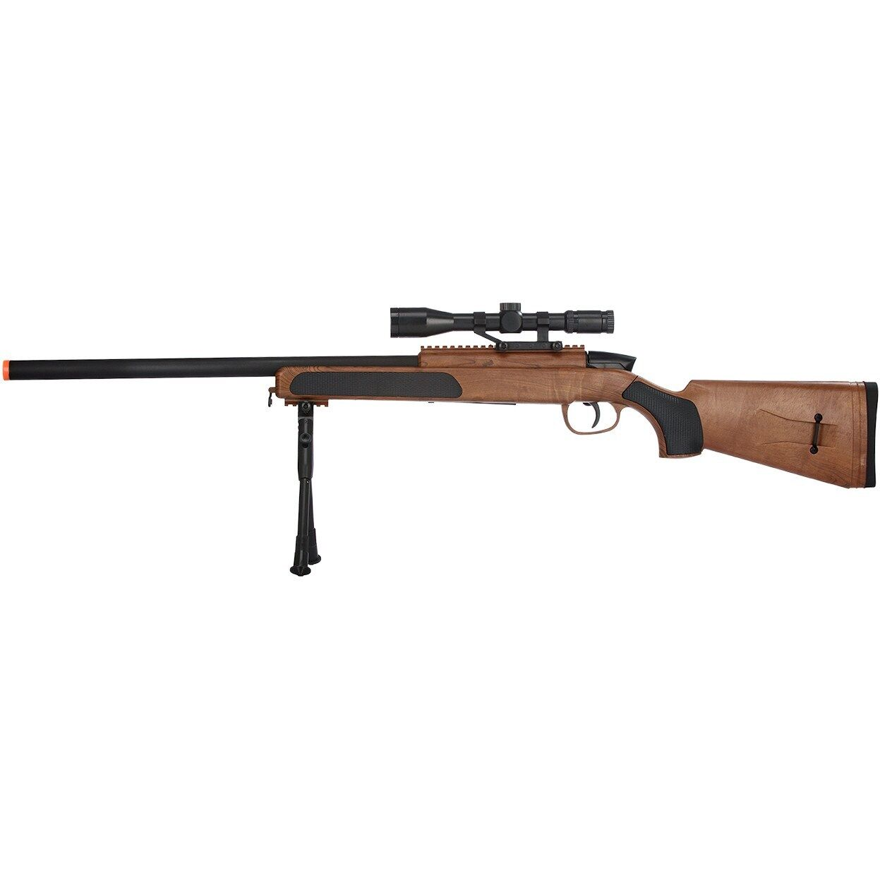 CYMA MK51 WOOD BOLT ACTION METAL SPRING AIRSOFT SNIPER RIFLE