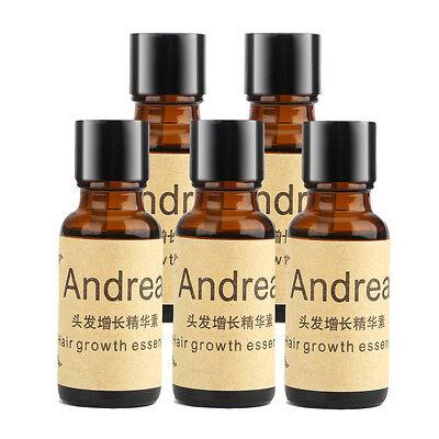 5pcs Andrea Hair Growth Regrowth Ginger Essence Natural Hair Loss Treatment US
