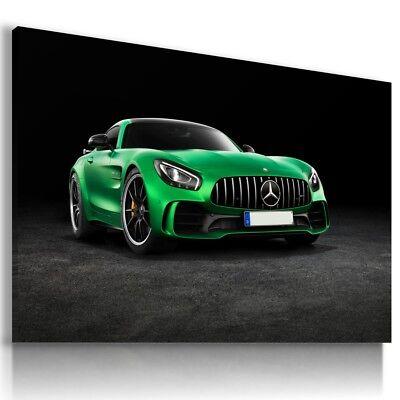 LAMBORGHINI HURACAN GREEN Sports Cars Large Wall Art Canvas Picture AU90 MATAGA