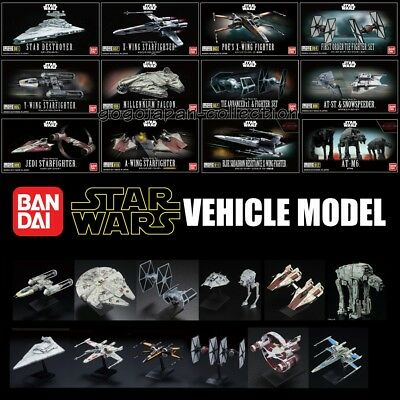BANDAI STAR WARS VEHICLE MODEL 12 Model kit Set
