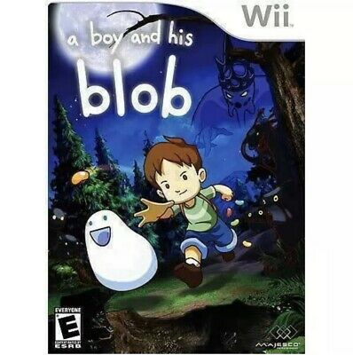 David Crane's,A Boy and His Blob (Nintendo Wii) Complete And EXCELLENT