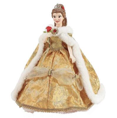 Possible Dreams Christmas Tree Topper Belle, Disney Princess