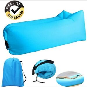 Inflatable Lounger - Outdoor Waterproof Air Filled