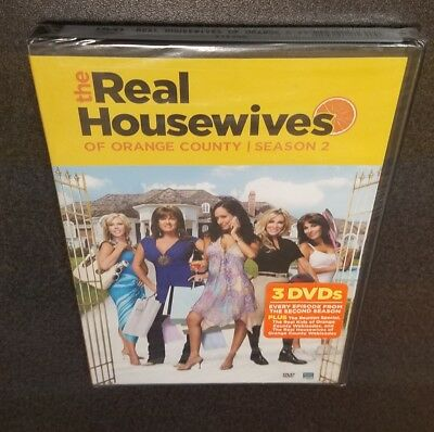 The Real Housewives of Orange County: Season 2 (DVD) Bravo reality tv show