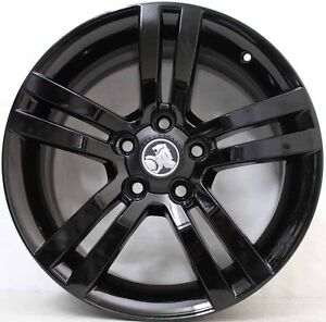 18-inch-Genuine-Holden-COMMODORE-VE-SS-ALLOY-wheels-FINISHED-IN-CUSTOM-BLACK