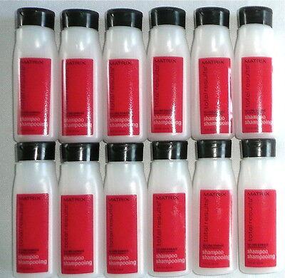 Lot Of 12  Matrix Total Results Travel Size Shampoo  75 Fl Oz  New