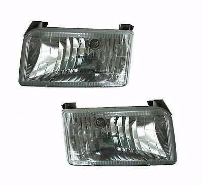 NEWMAR MOUNTAIN AIRE 19981999 2000 CLEAR HEADLIGHTS LIGHTS FRONT LAMPS RV - PAIR
