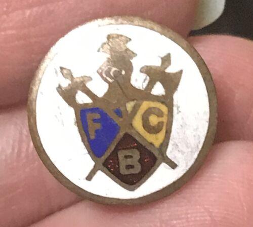 Knights of Pythias Masonic pin Crest enamel vintage
