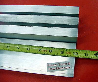 4 Pieces 58x 2 Aluminum Flat Bar 10 Long 6061 .625 Solid Plate Mill Stock
