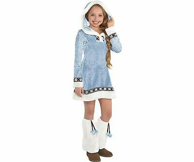Arctic Princess Winter Eskimo Christmas Fancy Dress Halloween Child Costume