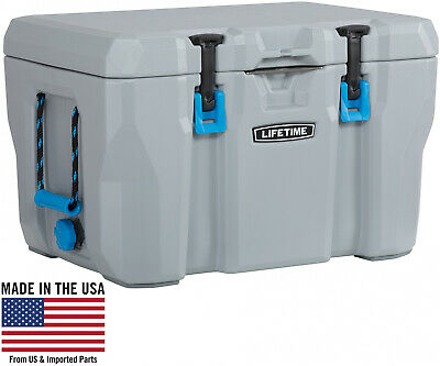 Lifetime 55 Quart High Performance Cooler, Grey, 90820