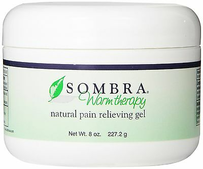 SOMBRA WARM THERAPY ALL NATURAL PAIN RELIEF GEL 8oz