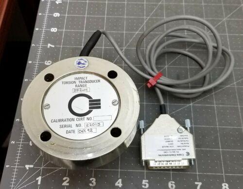 """Crane Stationary Torque Transducer ¼"""" / Torque Wrench Tester Calibrator 28Nm[B6B"""