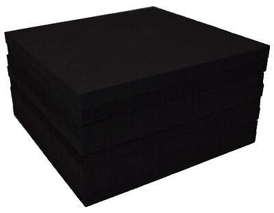 "XCEL Craft Foam Pads Furniture Pads Acoustic Studio Squares 6""x6""x3/8"" (8 pcs)"