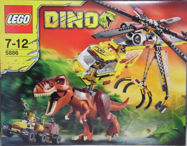 Lego Dino 5886 T-Rex Transport-Helikopter Hubschrauber Dinosaurier SEALED