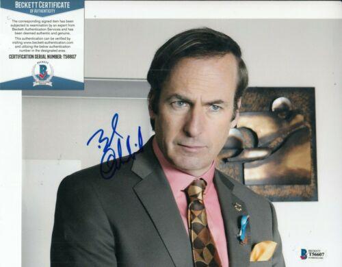 BOB ODENKIRK signed (BREAKING BAD) Better Call Saul 8X10 photo BECKETT T56607
