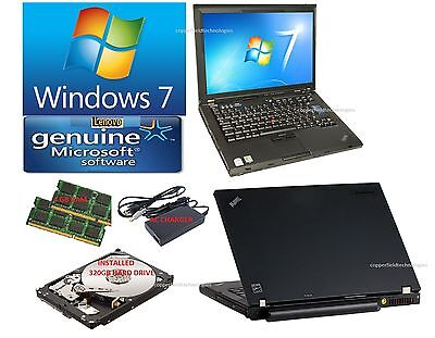 IBM LAPTOP LENOVO T61 Laptop. Complete. Ready to go. Wireless and Clean like new