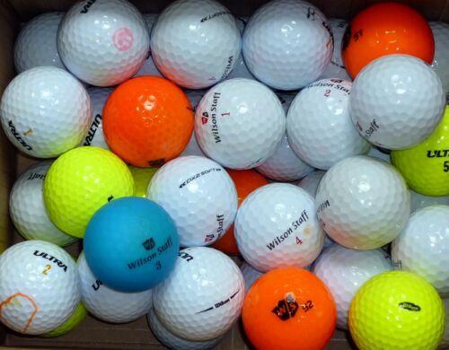 40 gebrauchte Golfbälle, Marke Wilson