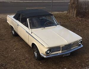 1965 Plymouth Valiant Convertible! MOTIVATED to SELL!