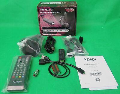 Xoro HRT 7610 Kit  HD DVB T2 HDMI Stick + Antenne