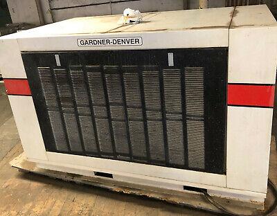 Gardner Denver Electra Saver Ii Model Ebhqjb 50 Hp Air Compressor 460 Volt