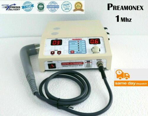 Ultrasound therapy Compact 1 Mhz Machine Model Therapy Pain Relief Massager -DVR