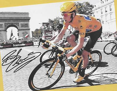 Bradley WIGGINS - AK Bild Großformat ca.21cm x 15cm - Print Copie (3) + WM Foto