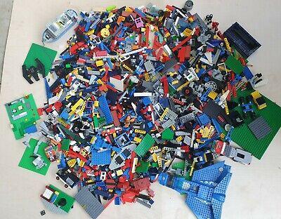LEGO Job Lot 7.3Kg Bundle Jumble Mix - Assorted themes and ages