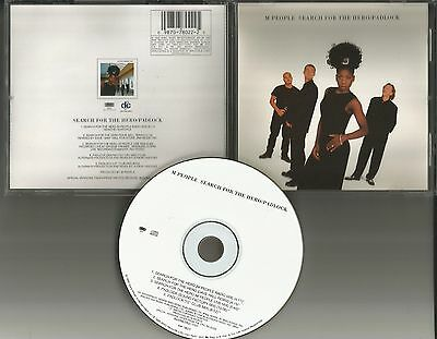 M People Search For The Hero   Padlock 5Trx Remixes   Live Usa Cd Single Mpeople