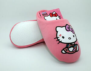 hello-kitty-pink-slippers-mules-girls-Size-9-1