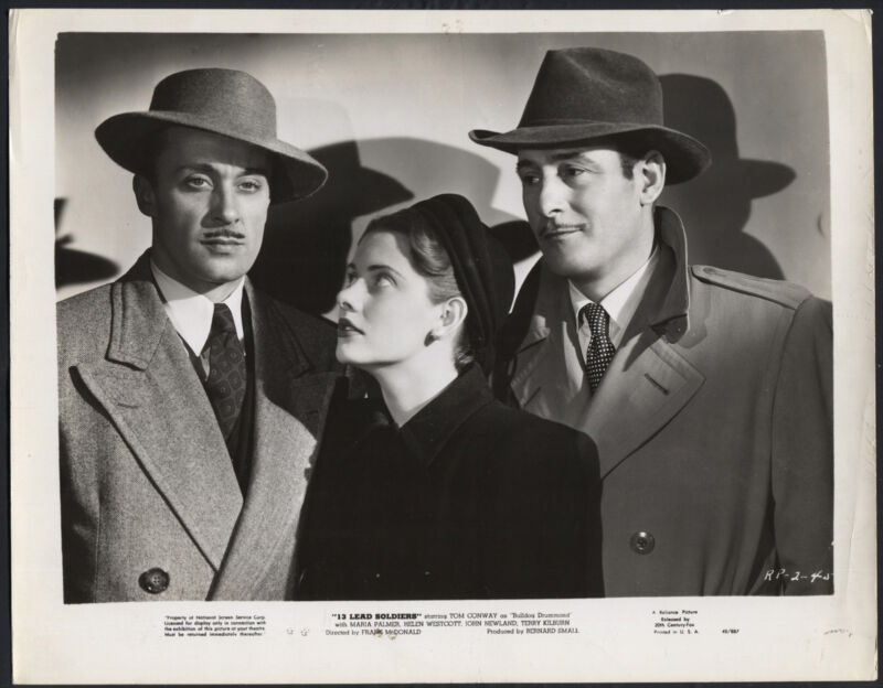 13 Lead Soldiers '48 WILLIAM STELLING MARIA PALMER TOM CONWAY