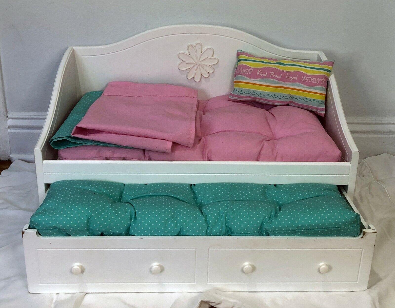 American Girl Trundle Bed Bedding Set For 18 Dolls - $30.00