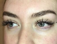 Eyelash Extensions starting at 65! Experienced Certified tech