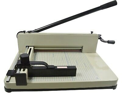 Paper Cutter A4 Metal Base Guillotine Page Trimmer Blade Scrap Booking 12 New