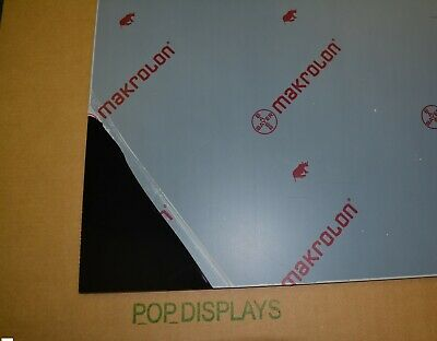 Black Lexan Sheet 116 X 48 X 24 Polycarbonate