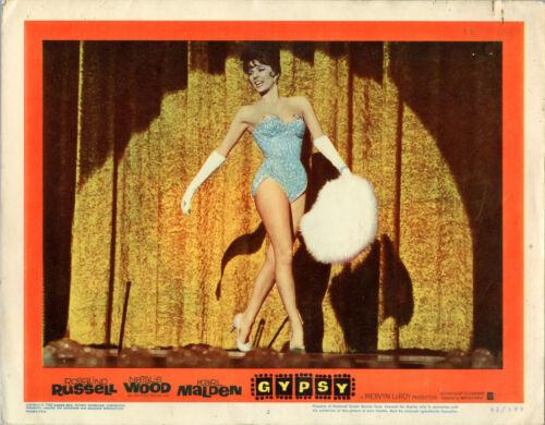 GYPSY 8-card Set • Natalie Wood, Rosalind Russell • 1962 • FINE (pinholes)