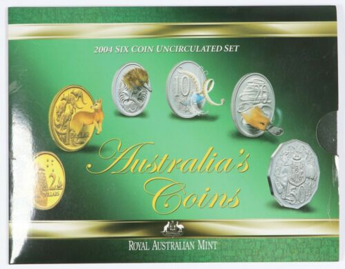 2004 Australia 6 Coin Uncirculated Set