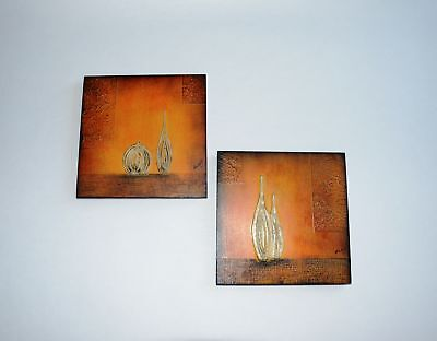 Gilde Handwerk Bilder 2er Set Bild Kunst Wandbild Wohnzimmer Deko B7