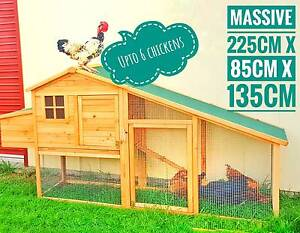X-Large Chicken coop Rabbit Guinea Pig Hutch Ferret House Coup Hoppers Crossing Wyndham Area Preview