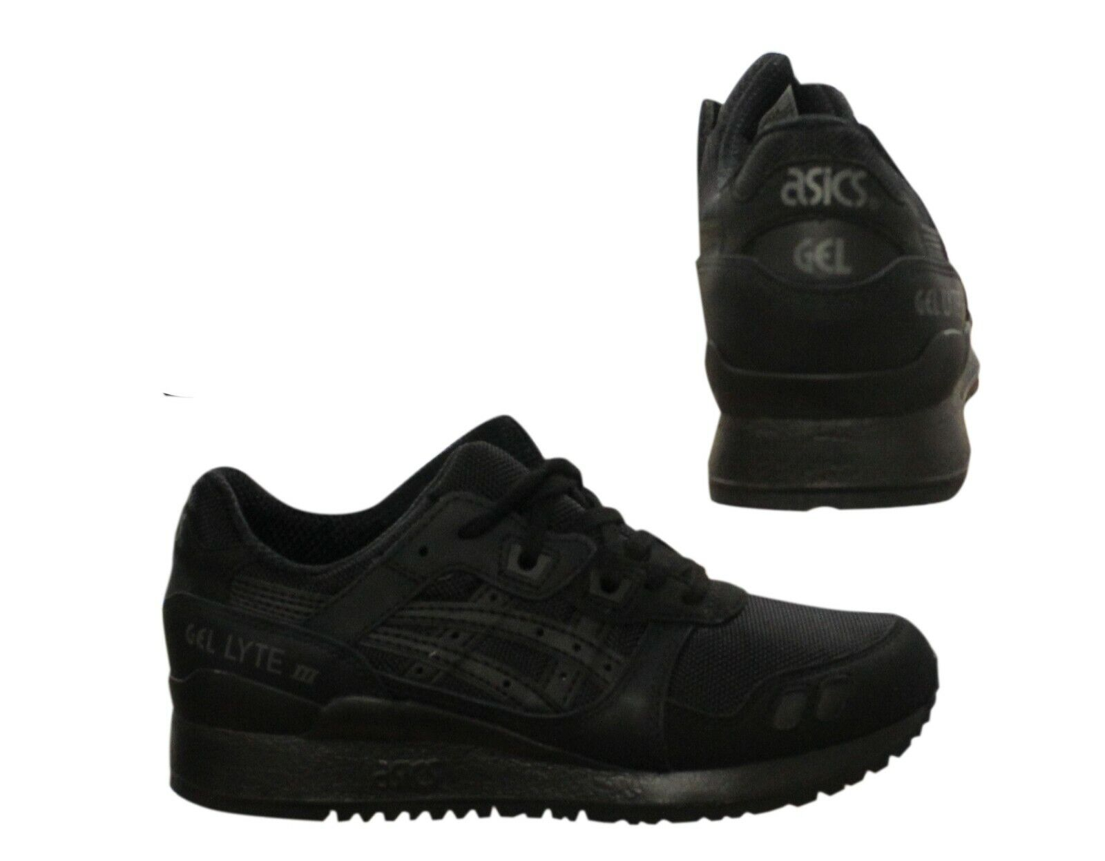 Asics Gel Lyte III Mens Trainers Lace Up Running Shoes Black HN6G4 9090 B35B