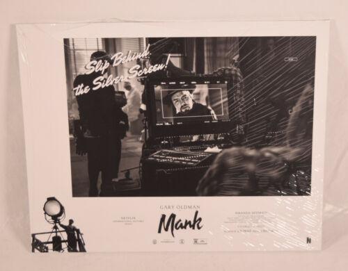 Mank Lobby Cards Complete Set Netflix Gary Oldman Sealed