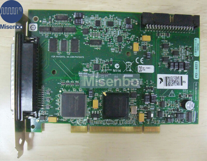 National Instruments NI PCI-6221 D-SUB (Multifunction I/O Device),100%tested