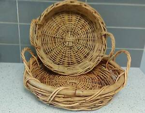 Pair of Cane Baskets Wurtulla Maroochydore Area Preview